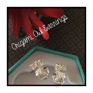 Origami Owl New Silver Stud Earrings